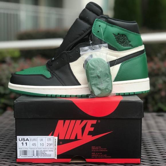 Nike Air Jordan 1 OG Pine Green e501789ec